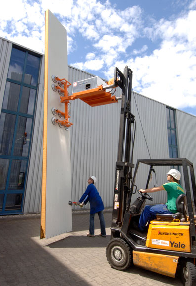Panel Lifting Devices : Forklift attachments baker plant hire